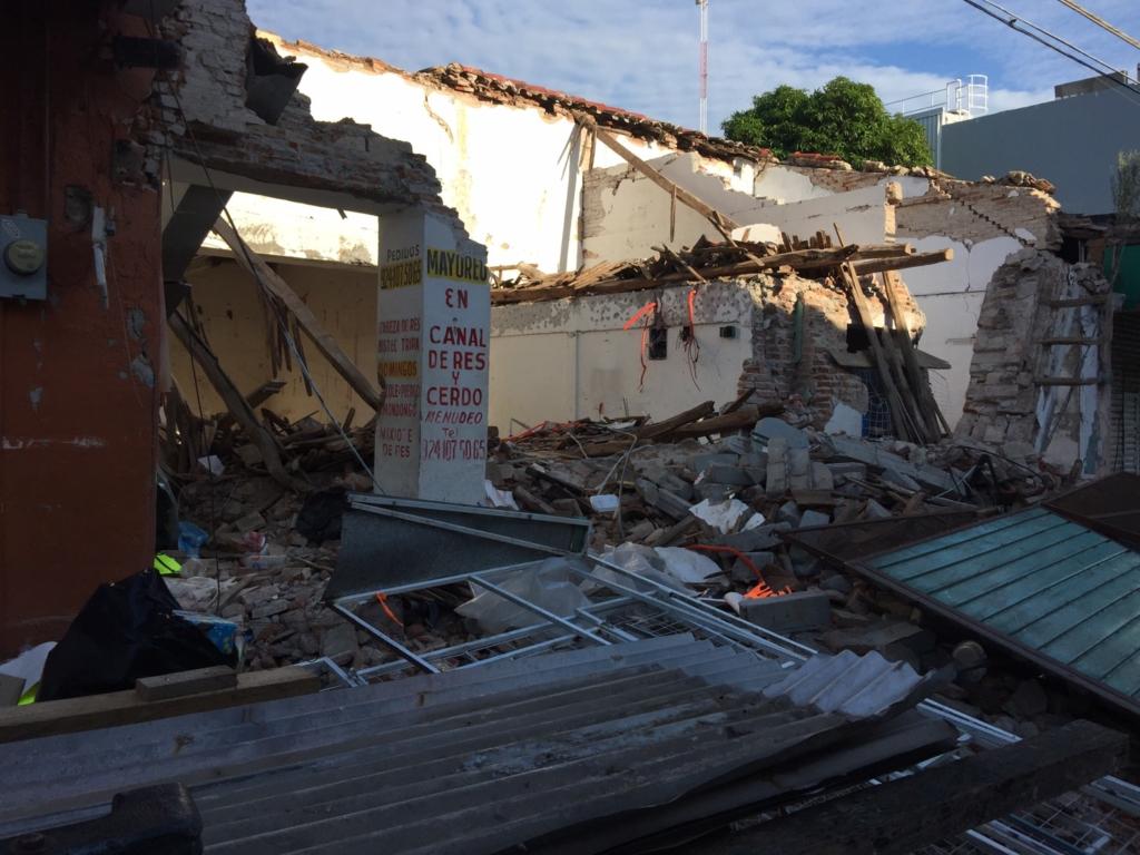 Juchitán y las secuelas del terremoto. Galería fotográfica
