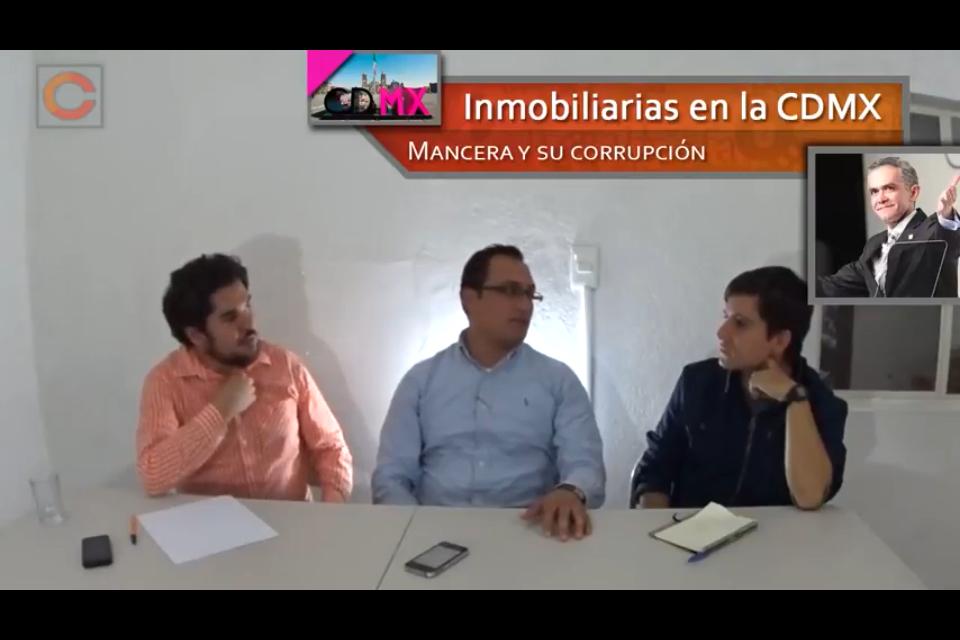 Mancera y las inmobiliarias #CDMX