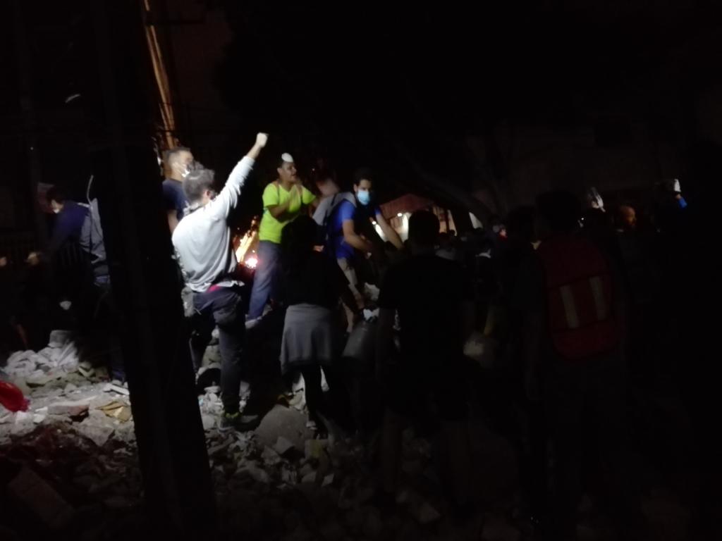 19-S. Los habitantes del terremoto